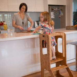 A Toddler Chef Stool - Learning Towers