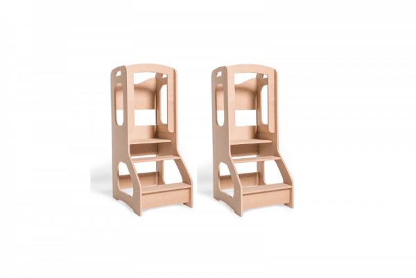 Twin pack Toddler chef stool learning tower